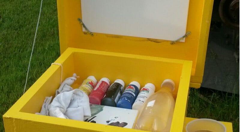 Paint The Town Berton Box open